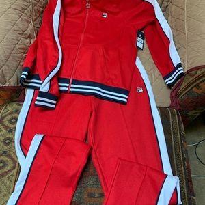 Fila track suit